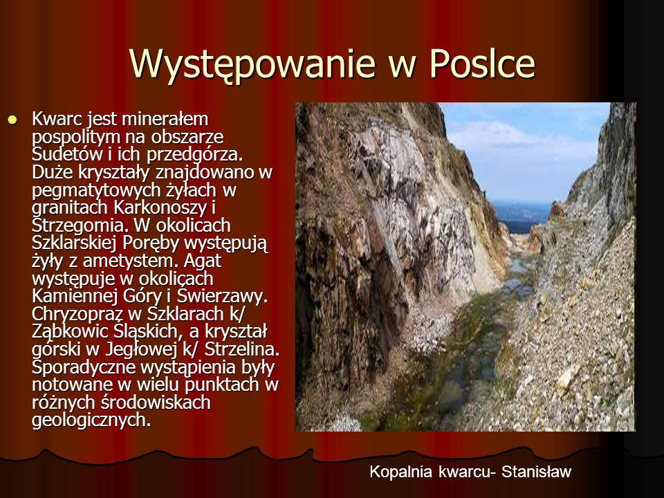 Kopalnia kwarcu- Stanisław