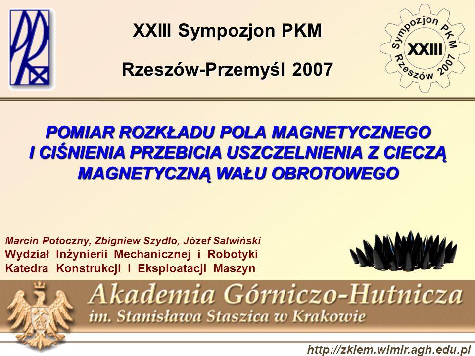 XXIII Sympozjon PKM Rzeszów-Przemyśl 2007