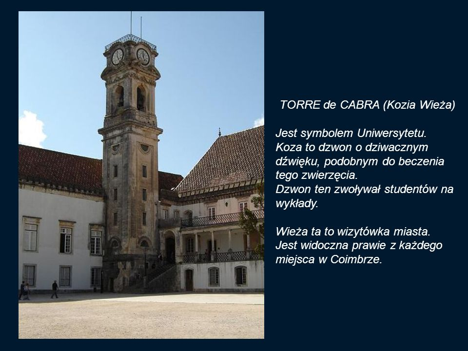 TORRE de CABRA (Kozia Wieża)