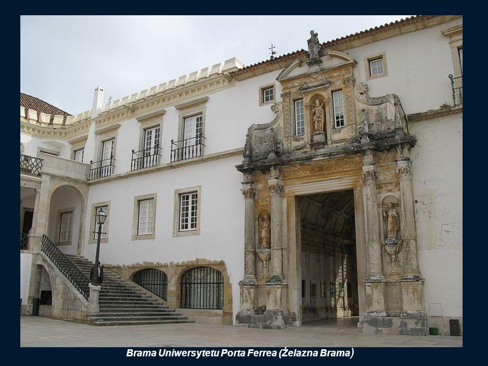 Brama Uniwersytetu Porta Ferrea (Żelazna Brama)
