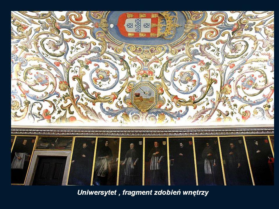 Uniwersytet , fragment zdobień wnętrzy