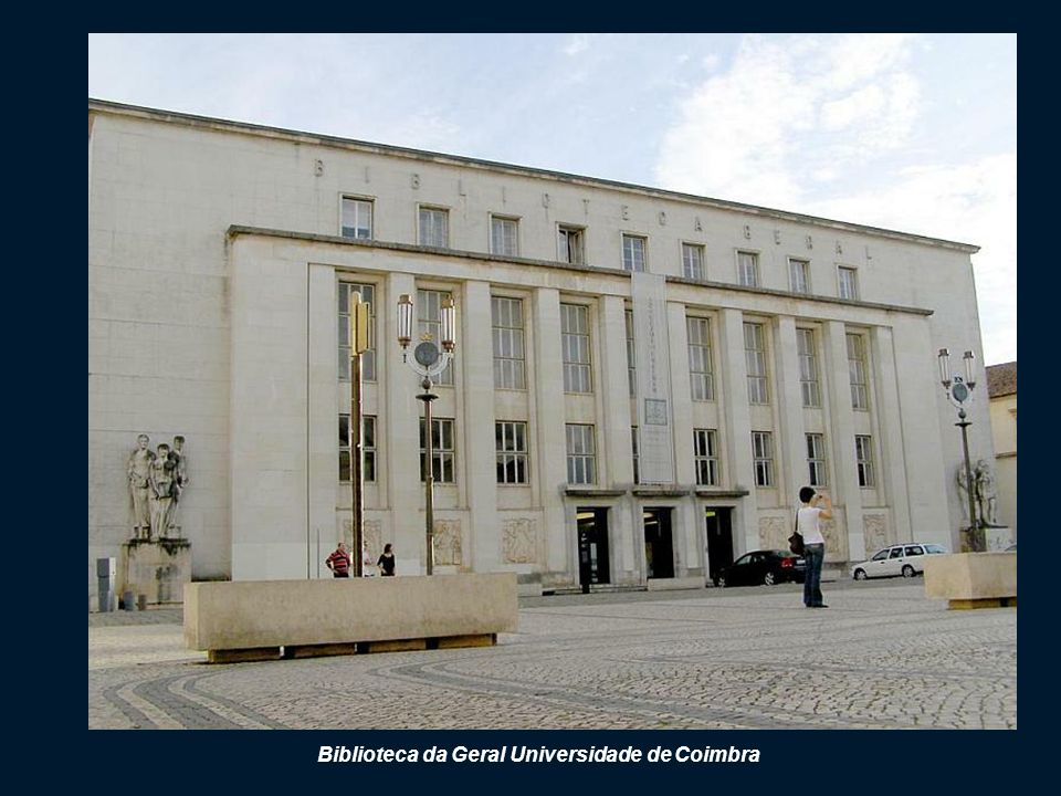 Biblioteca da Geral Universidade de Coimbra
