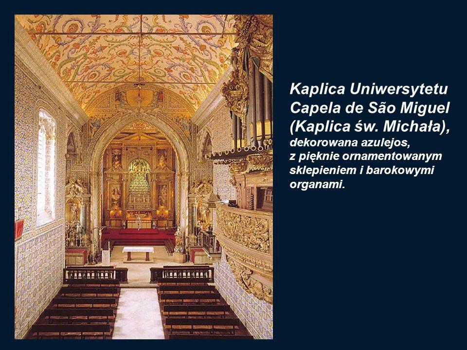 Kaplica Uniwersytetu Capela de São Miguel (Kaplica św. Michała),
