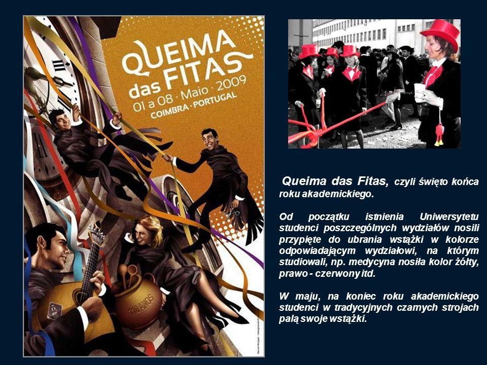Queima das Fitas, czyli święto końca roku akademickiego.