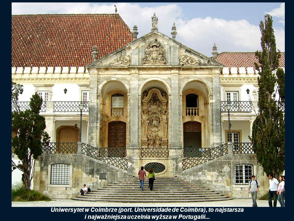 Uniwersytet w Coimbrze (port. Universidade de Coimbra), to najstarsza