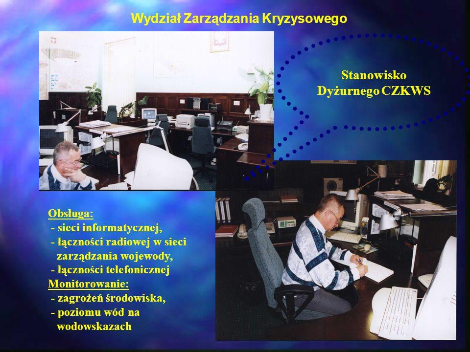 Wydział Zarządzania Kryzysowego Stanowisko Dyżurnego CZKWS