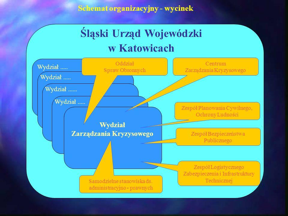 Schemat organizacyjny - wycinek