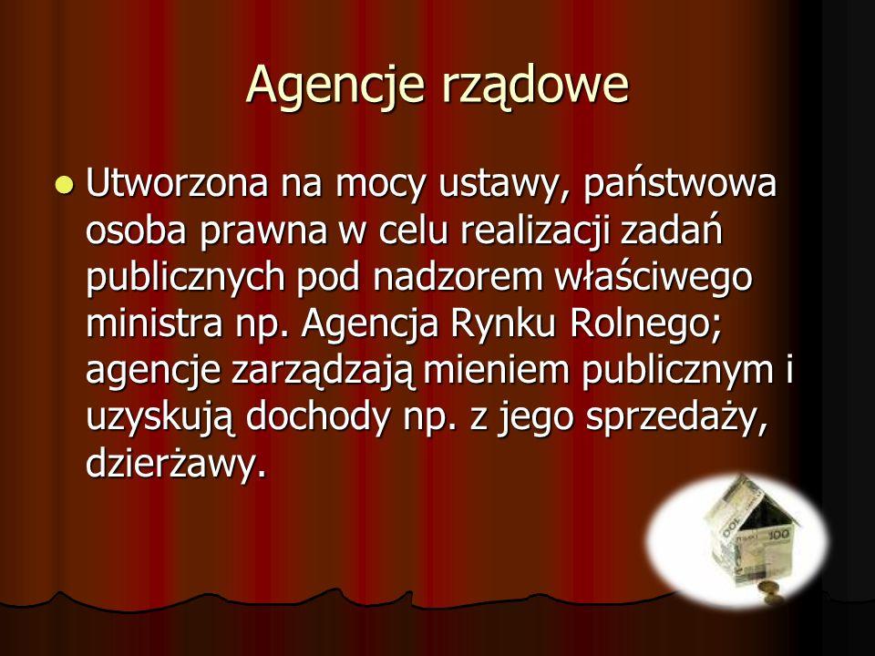 Agencje rządowe