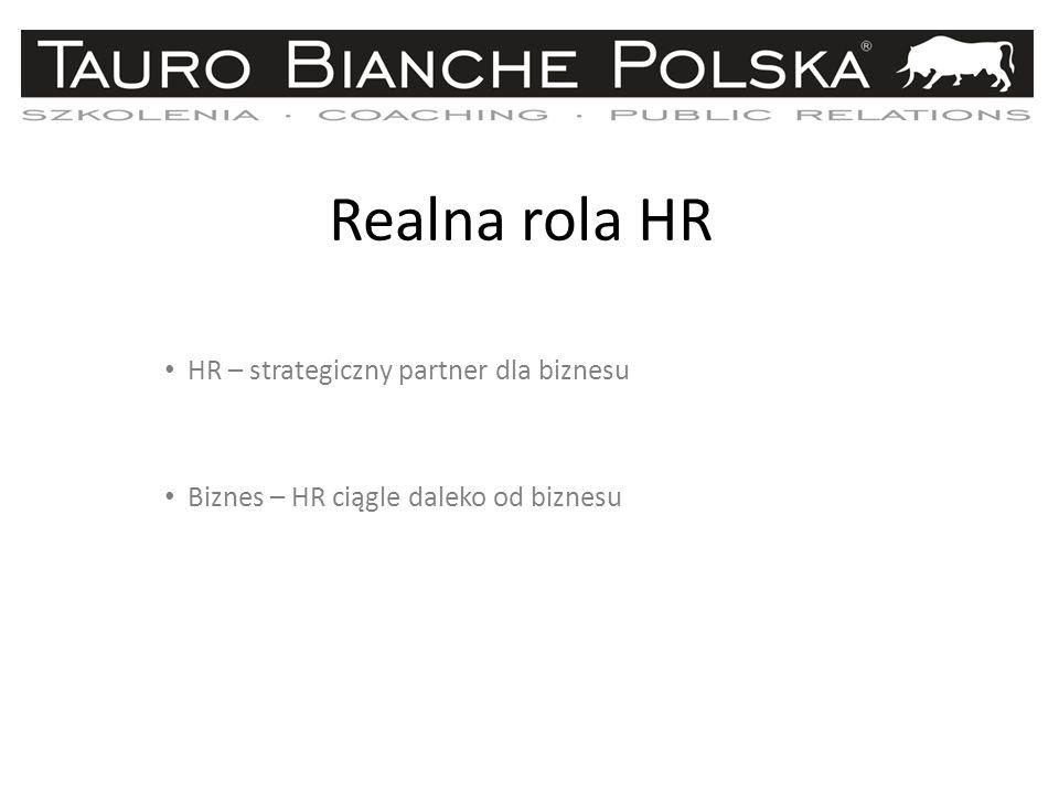 Realna rola HR HR – strategiczny partner dla biznesu
