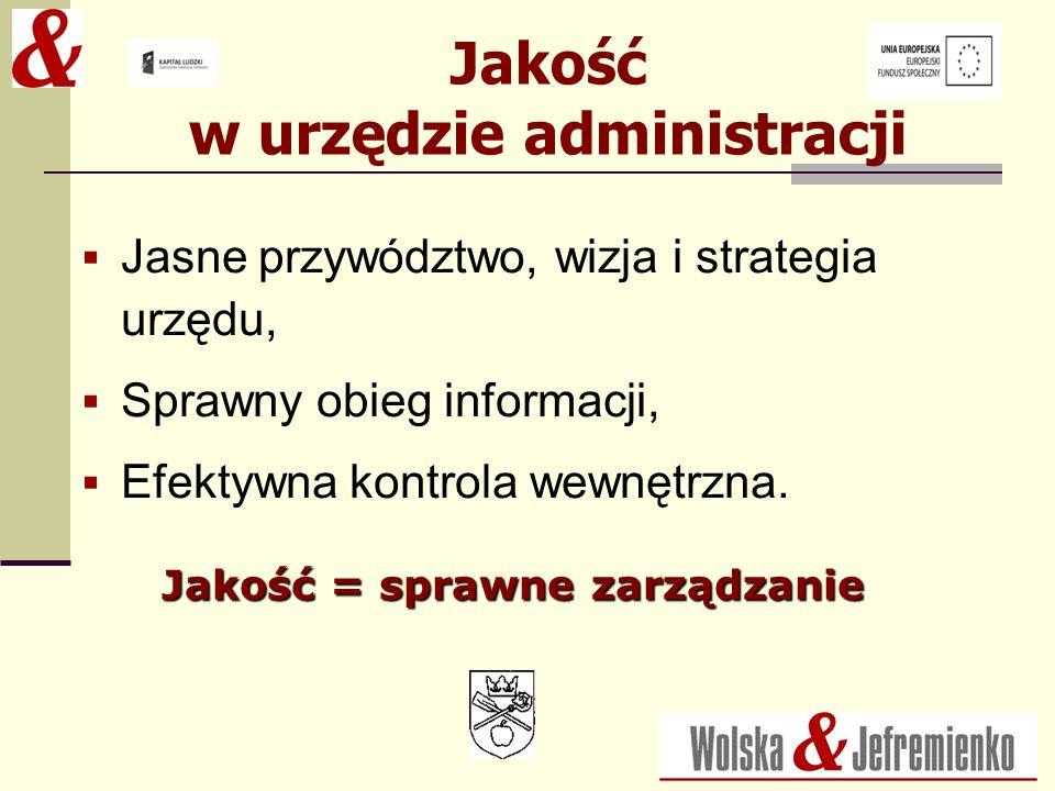 Jakość w urzędzie administracji