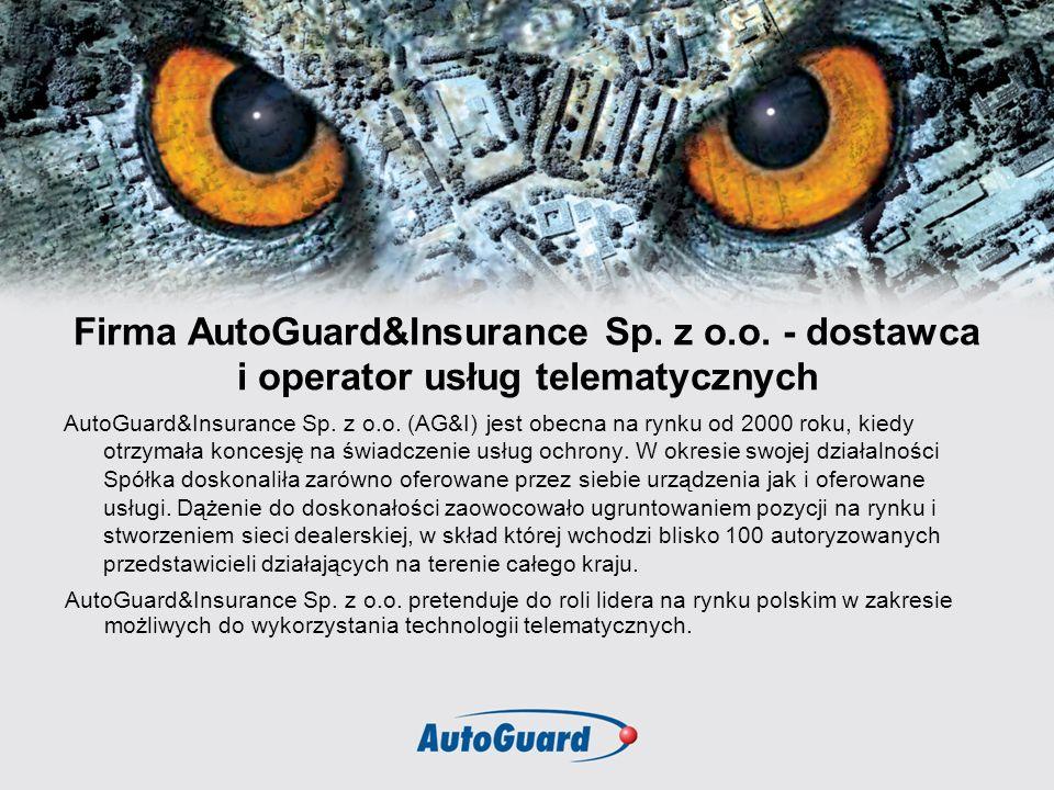 Firma AutoGuard&Insurance Sp. z o. o