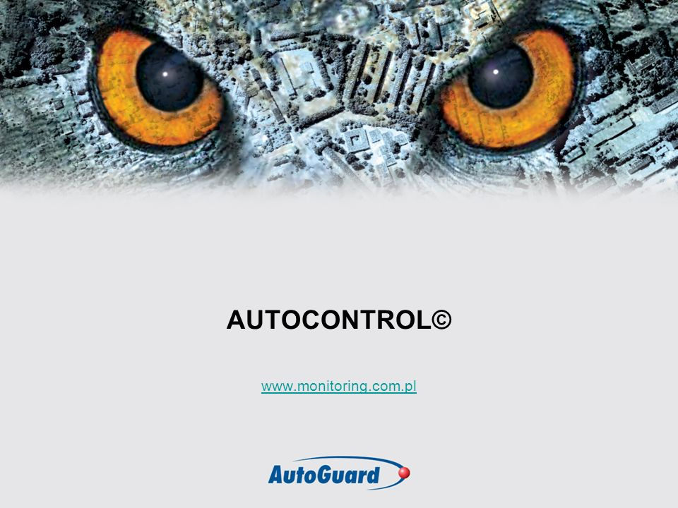AUTOCONTROL© www.monitoring.com.pl