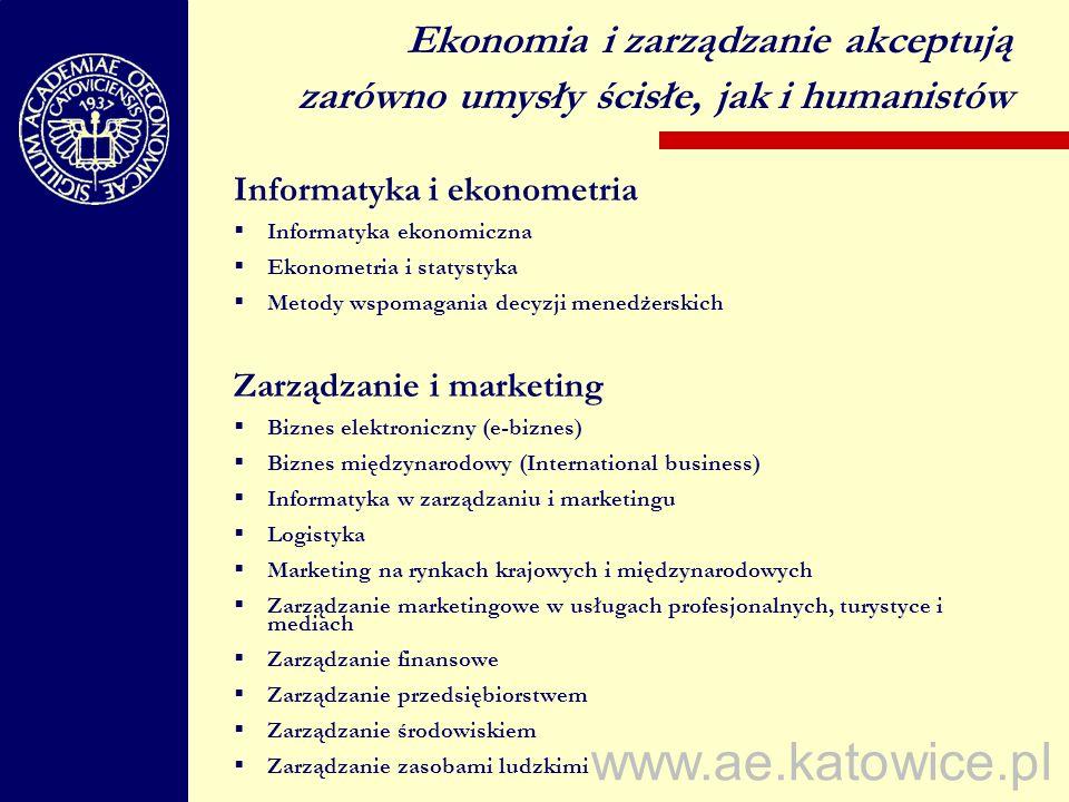 Ekonomia i zarządzanie akceptują