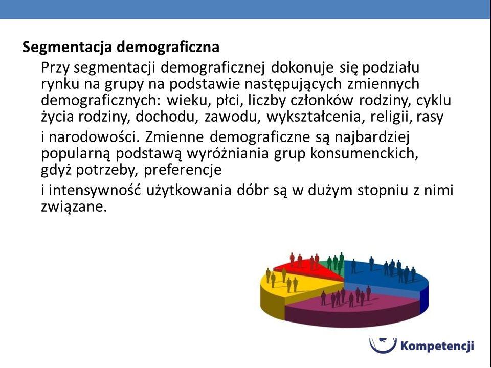 Segmentacja demograficzna