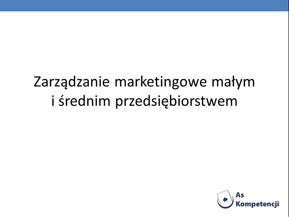 Zarządzanie marketingowe małym i średnim przedsiębiorstwem