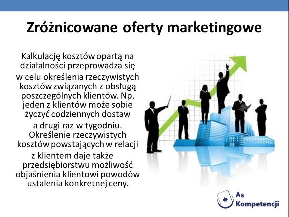 Zróżnicowane oferty marketingowe