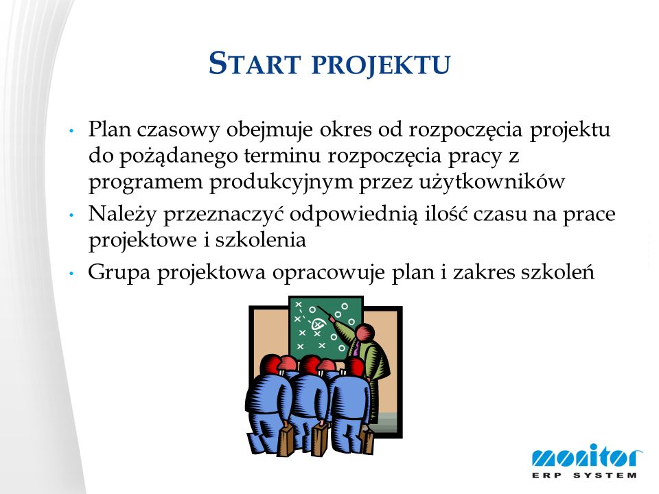 Start projektu