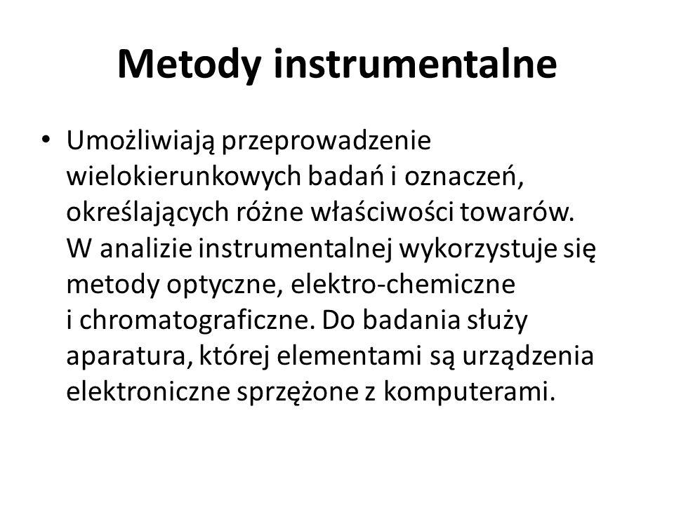 Metody instrumentalne