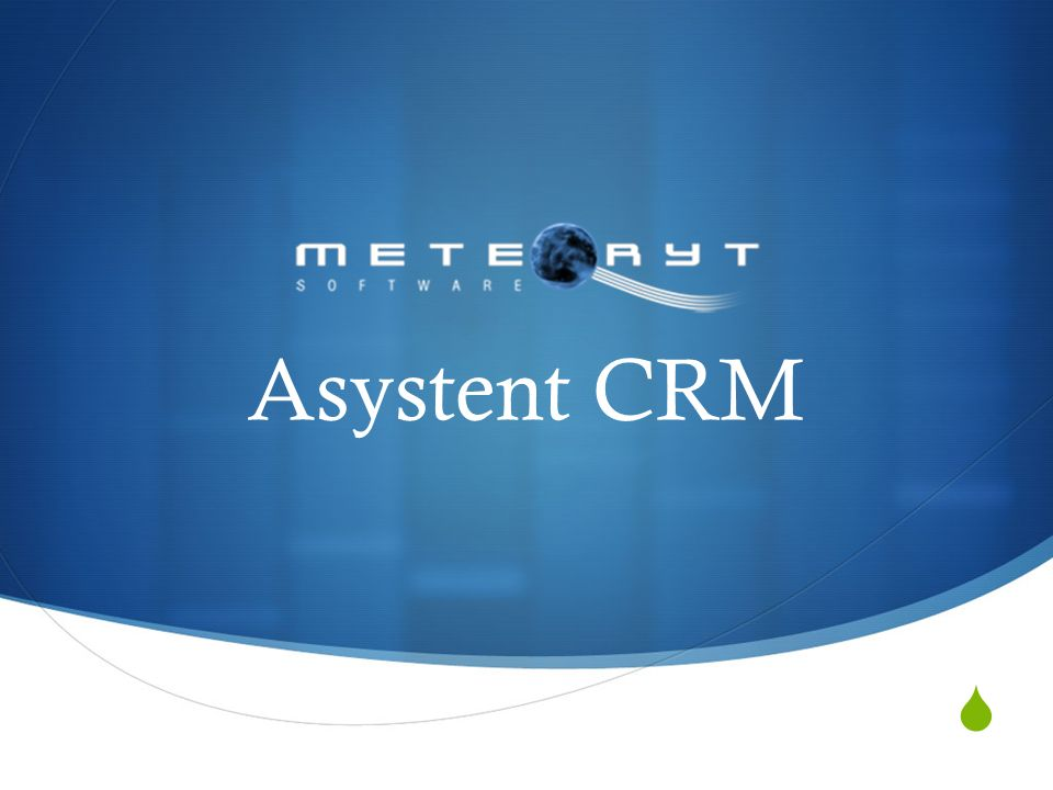Asystent CRM
