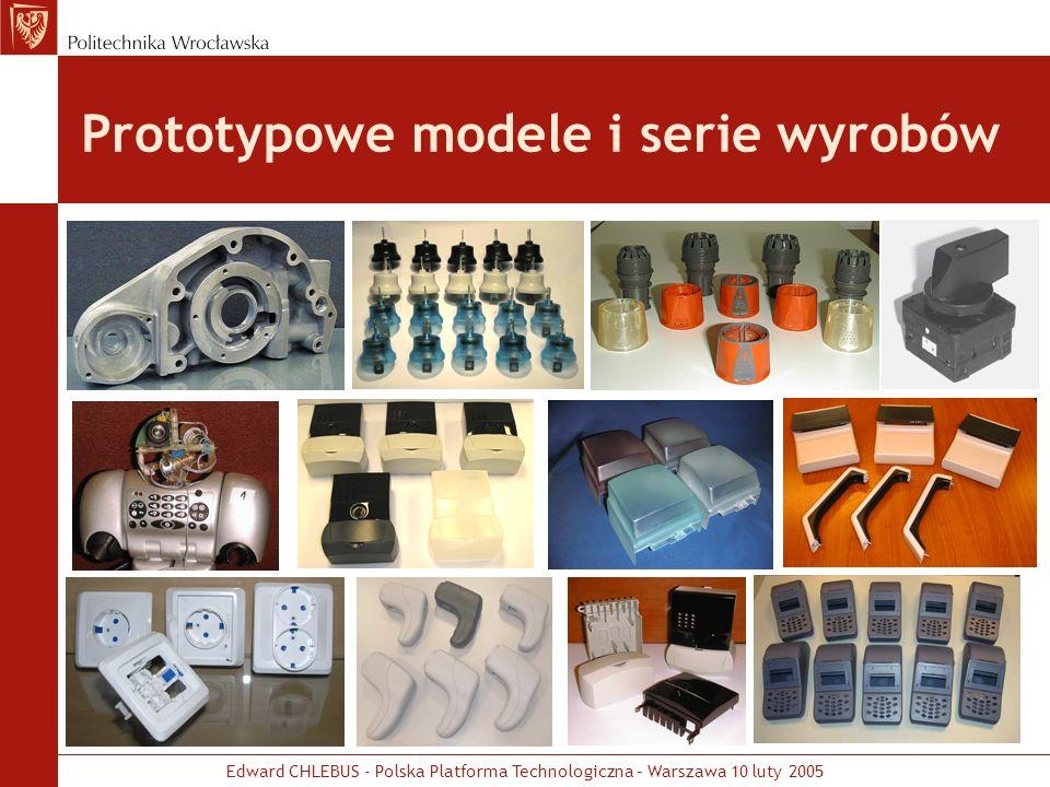 Prototypowe modele i serie wyrobów