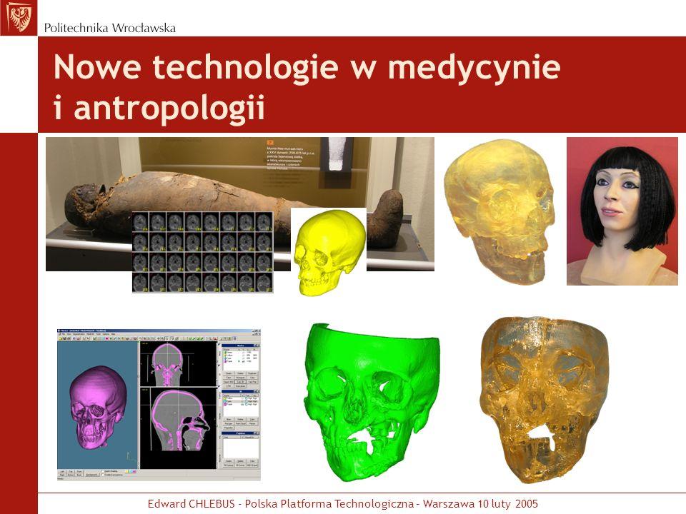 Nowe technologie w medycynie i antropologii