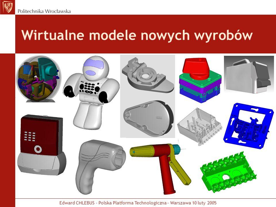 Wirtualne modele nowych wyrobów