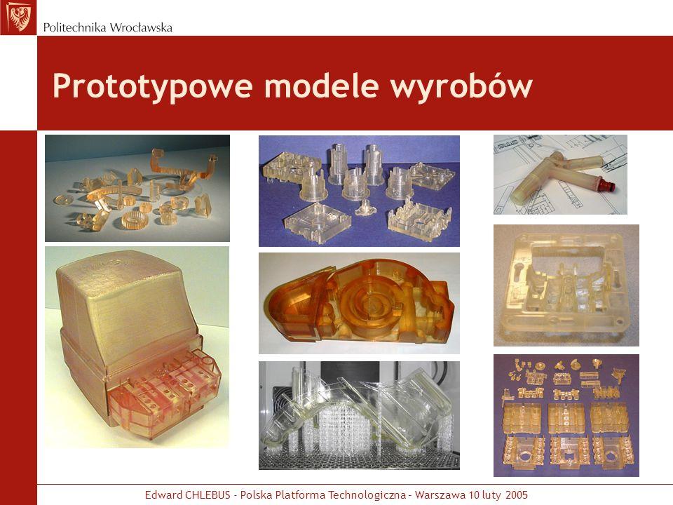 Prototypowe modele wyrobów