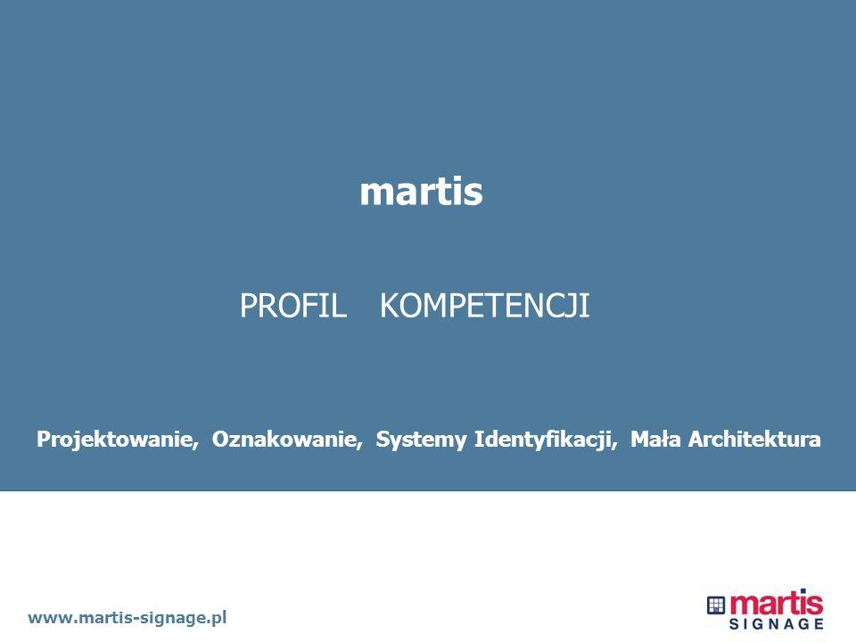 Projektowanie, Oznakowanie, Systemy Identyfikacji, Mała Architektura