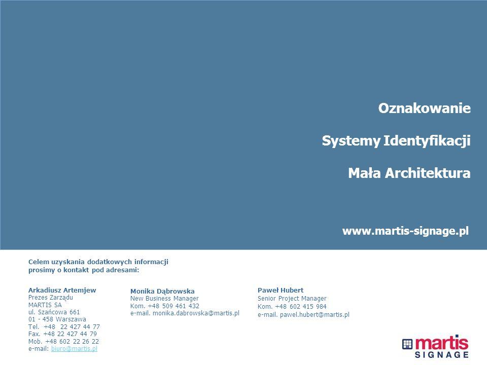 Systemy Identyfikacji Mała Architektura