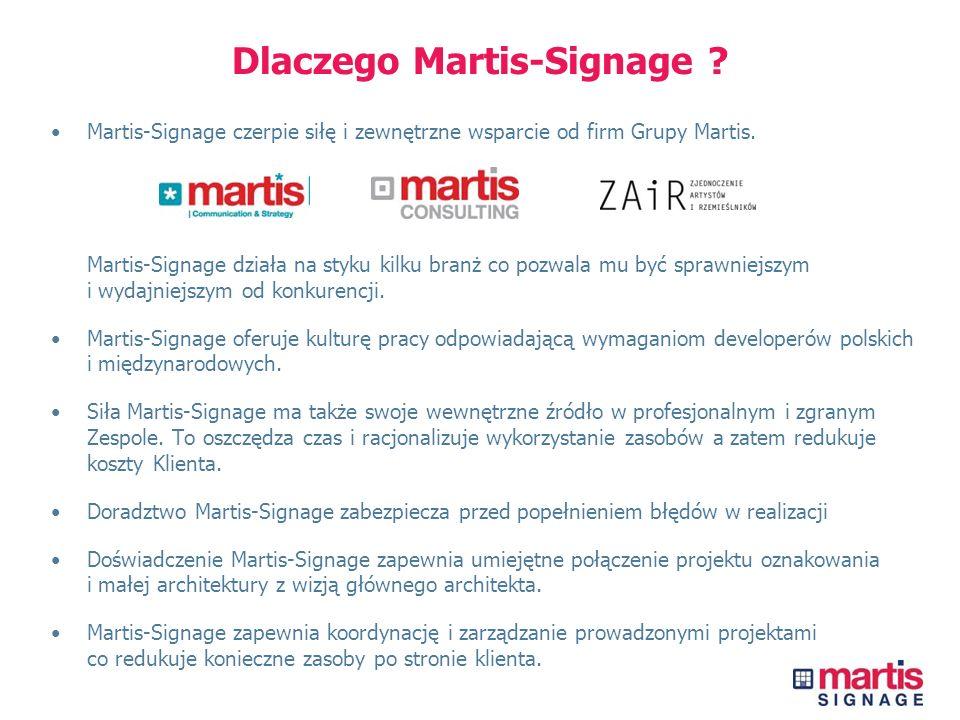 Dlaczego Martis-Signage