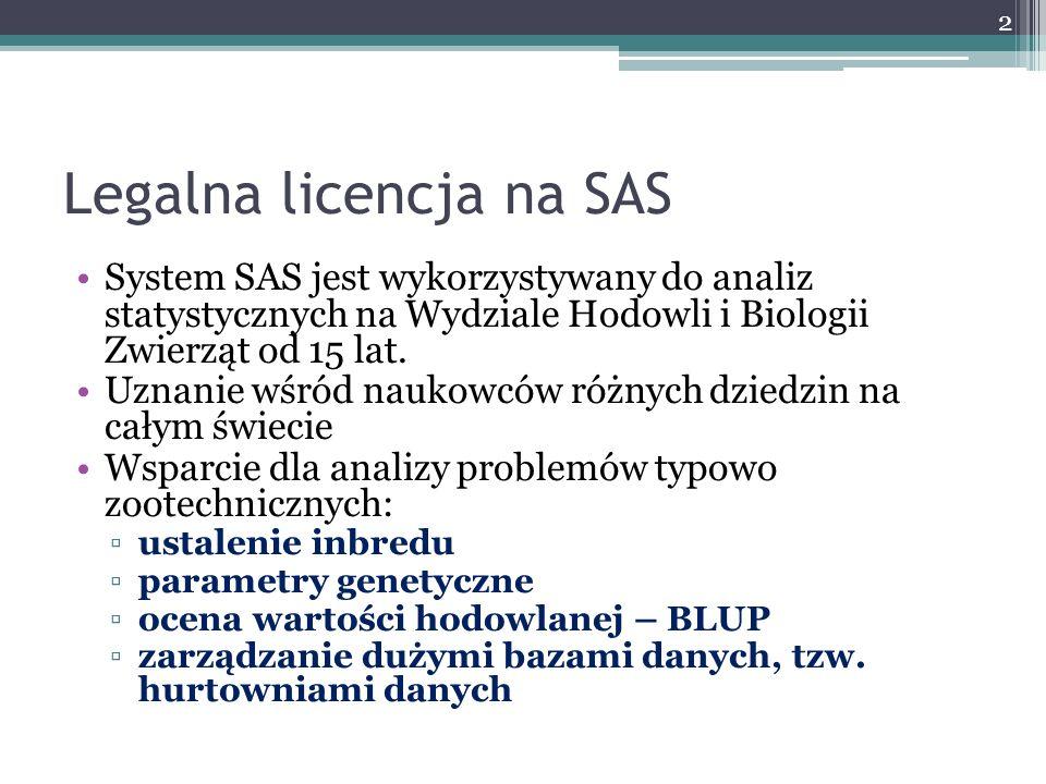 Legalna licencja na SAS