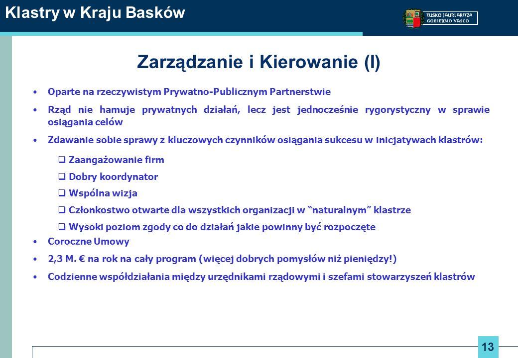 Zarządzanie i Kierowanie (I)