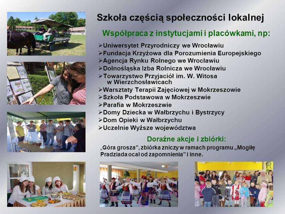 Szkoła częścią społeczności lokalnej