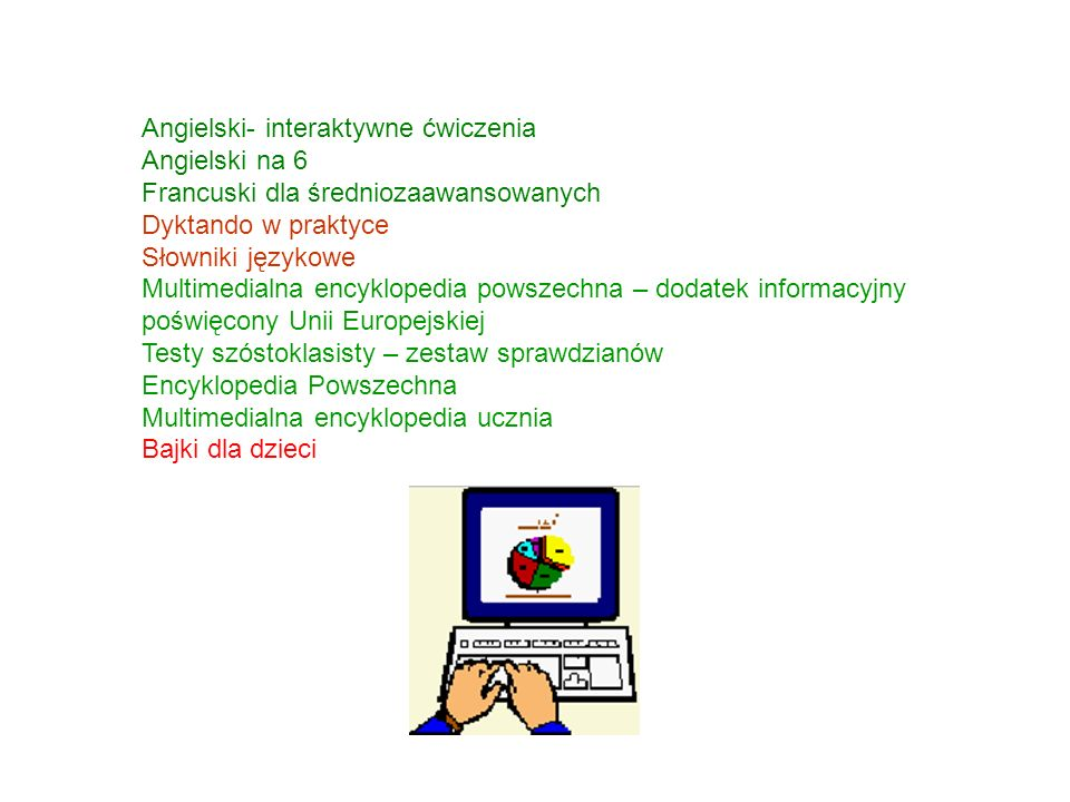 Angielski- interaktywne ćwiczenia