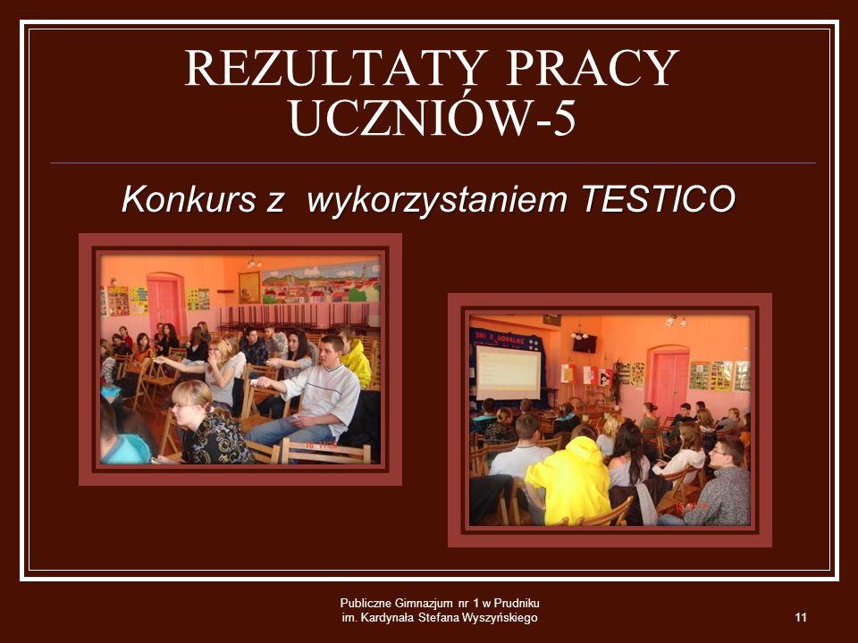 REZULTATY PRACY UCZNIÓW-5