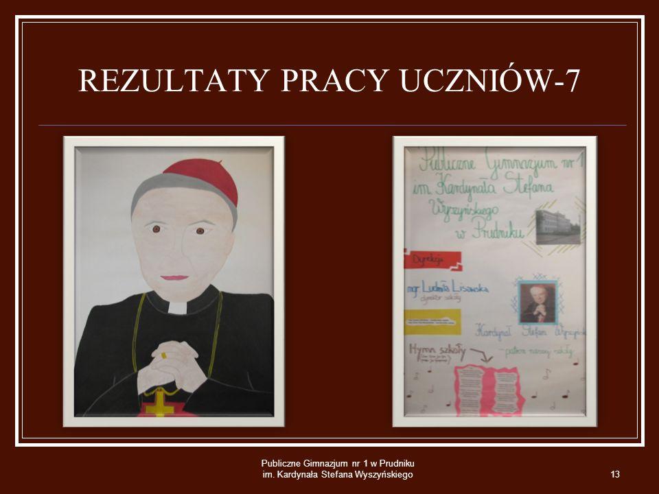 REZULTATY PRACY UCZNIÓW-7