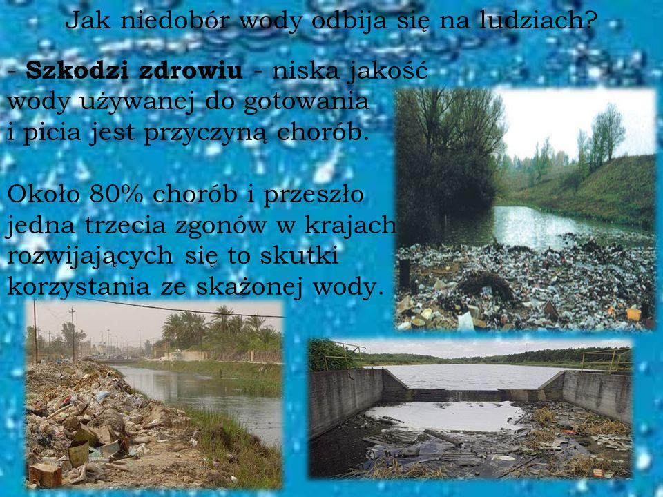 Jak niedobór wody odbija się na ludziach