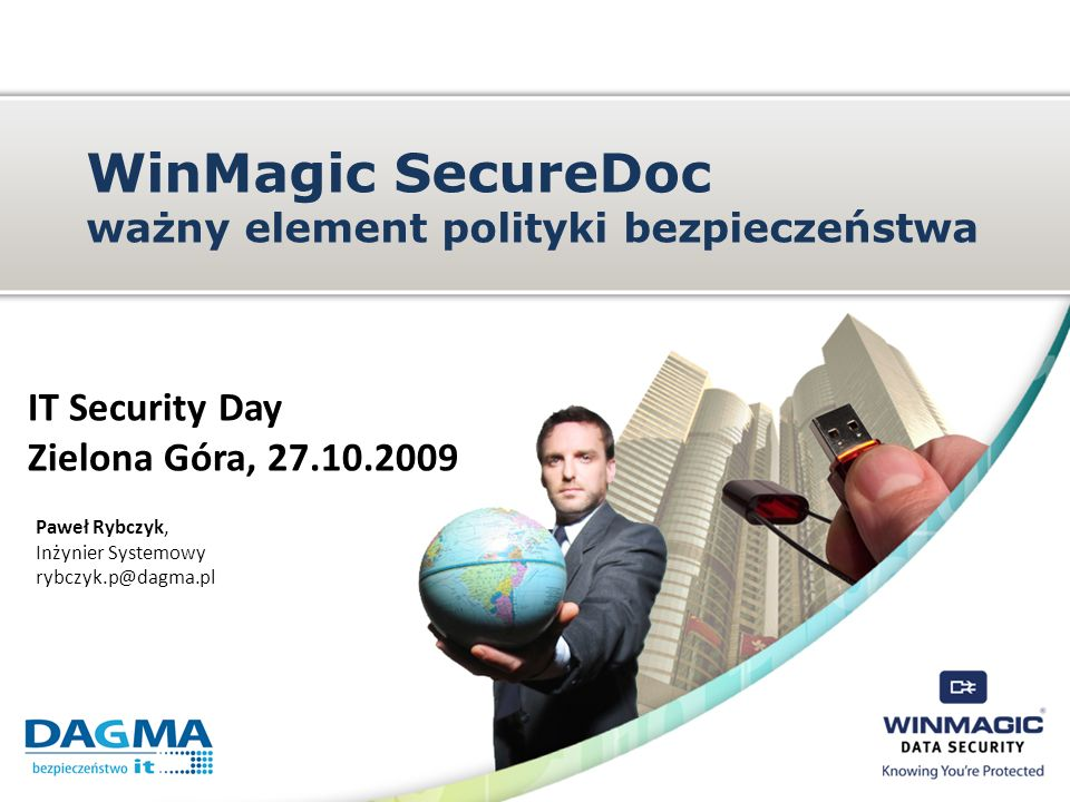 WinMagic SecureDoc ważny element polityki bezpieczeństwa