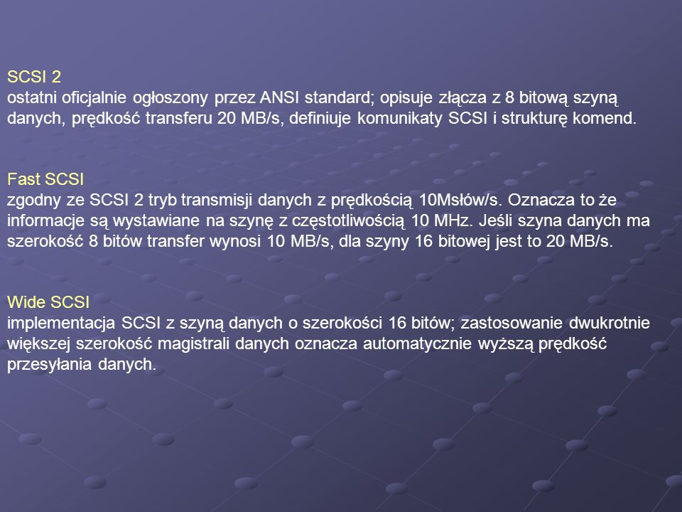 SCSI 2