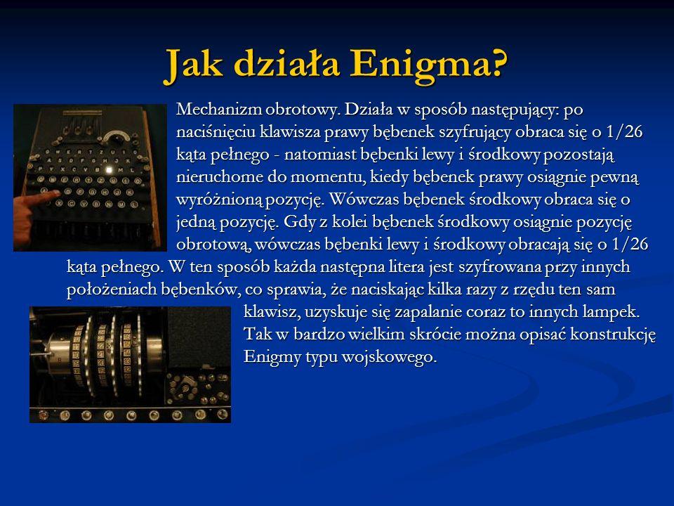 Jak działa Enigma