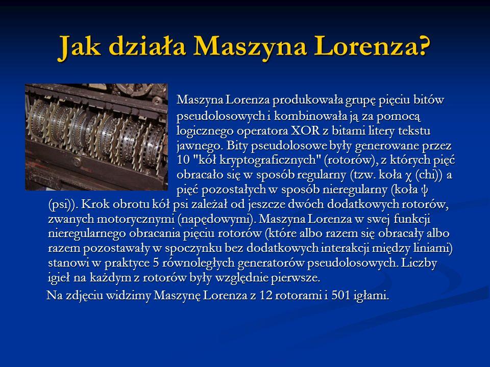 Jak działa Maszyna Lorenza