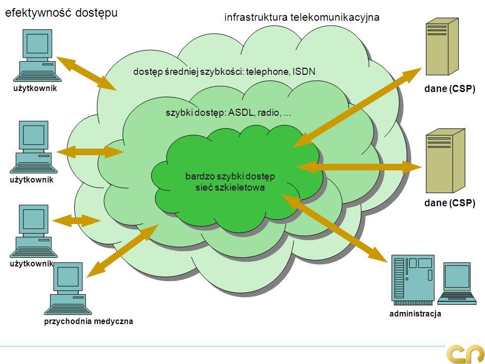 efektywność dostępu infrastruktura telekomunikacyjna