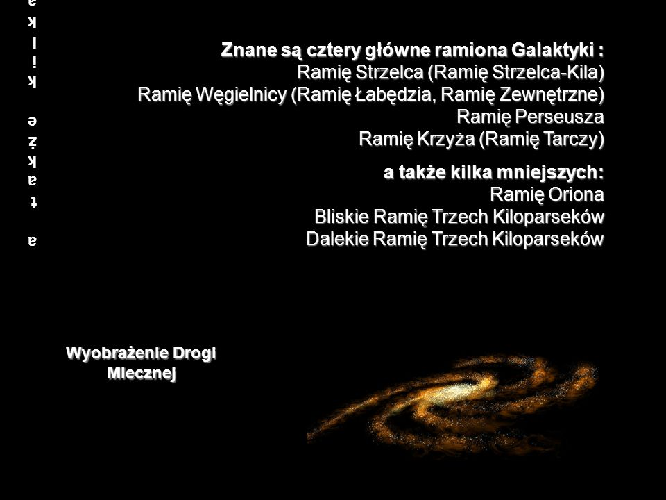 Wyobrażenie Drogi Mlecznej