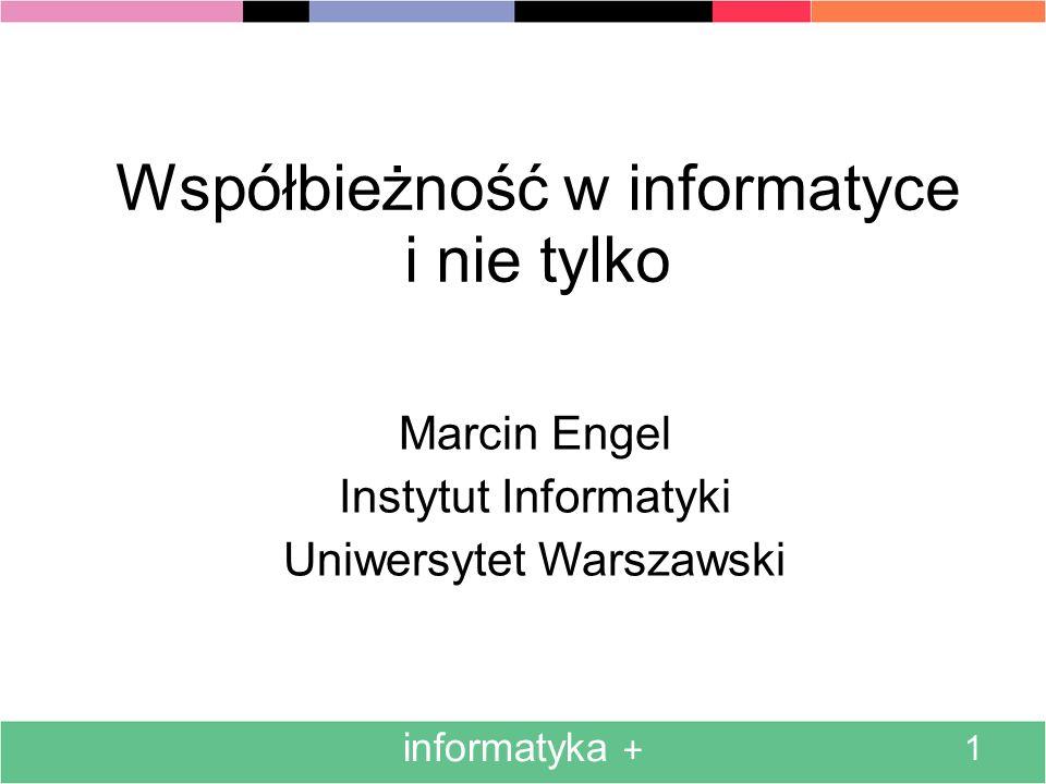 Współbieżność w informatyce i nie tylko