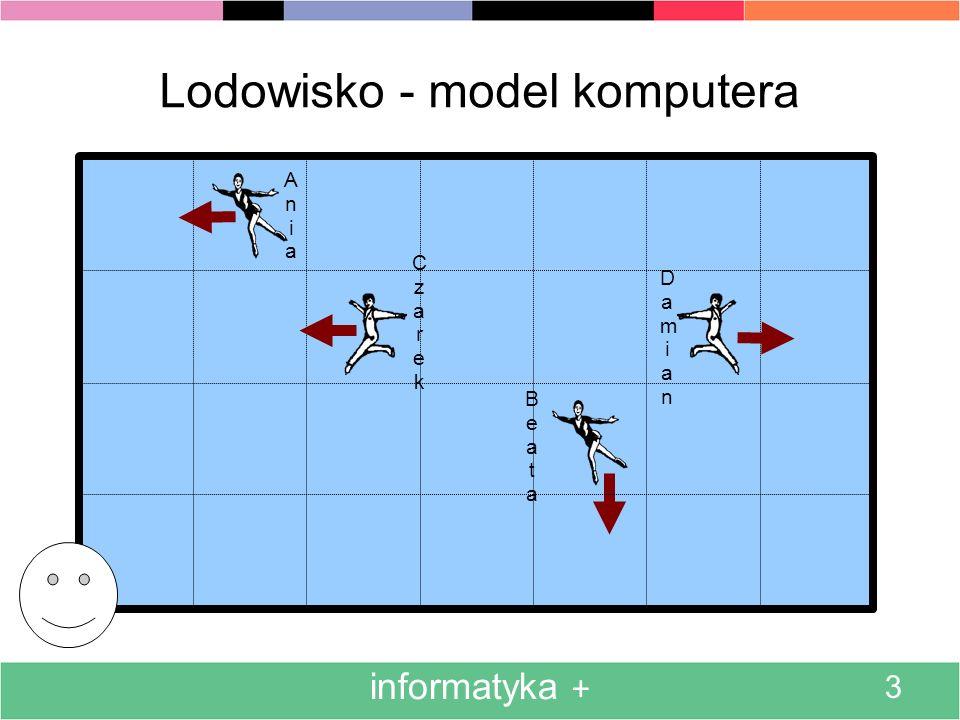 Lodowisko - model komputera
