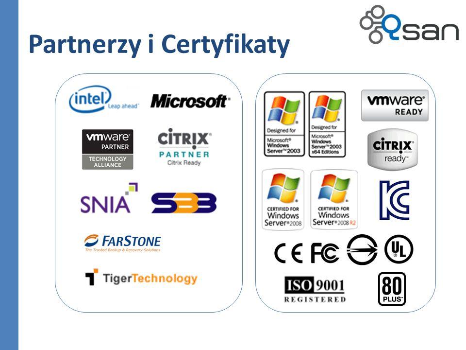 Partnerzy i Certyfikaty