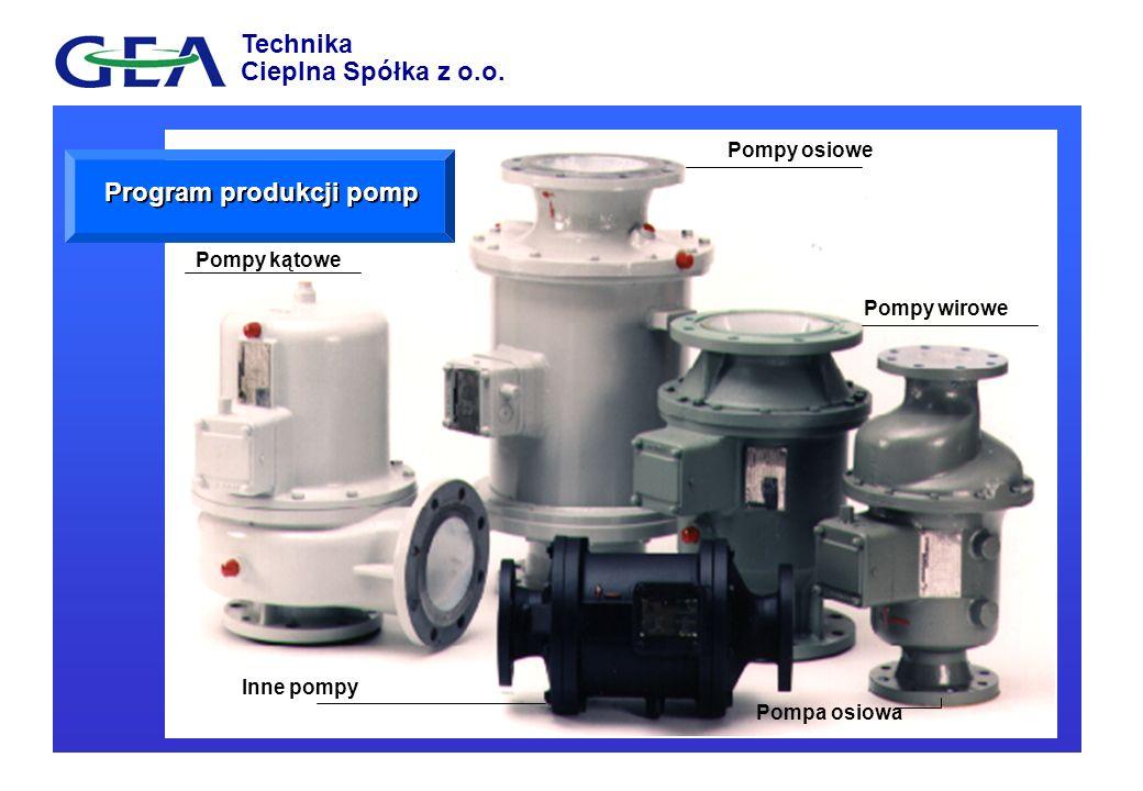 Program produkcji pomp
