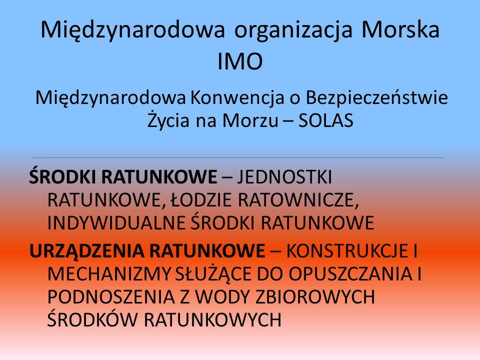 Międzynarodowa organizacja Morska IMO