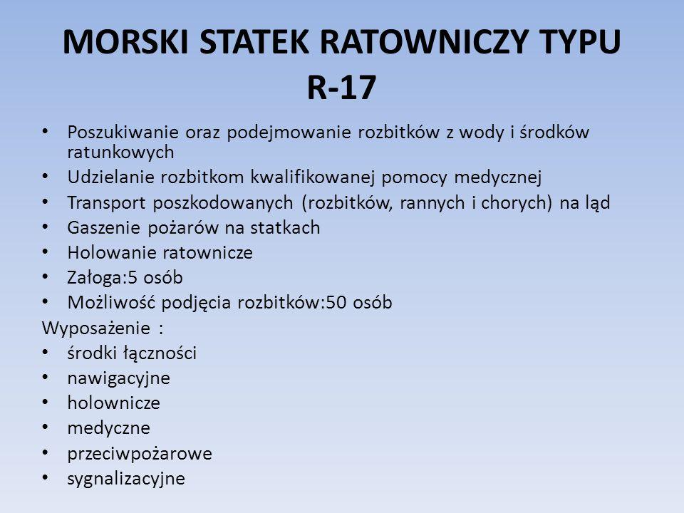 MORSKI STATEK RATOWNICZY TYPU R-17