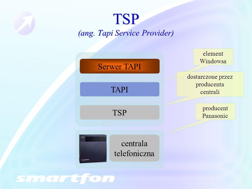 TSP (ang. Tapi Service Provider)